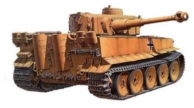 Tamiya German Tiger I Initial Production Africa-Corps TA-32529