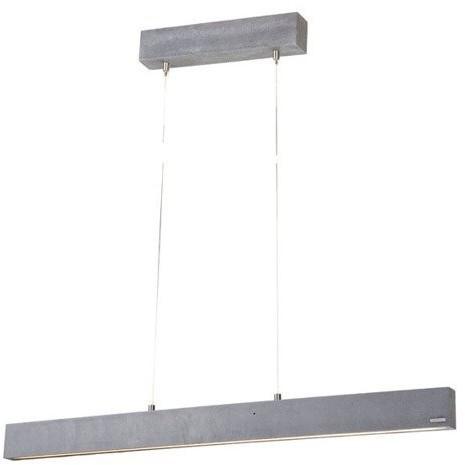 LoftLight Lampa wisząca betonowa do biura CONCRETE LINE szer. 162cm [różne wersje kolorystyczne] - 162 LLT CLI PE 162
