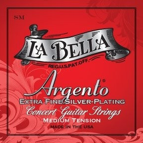 LaBella Argento SM Struny do gitary klasycznej srebrzone