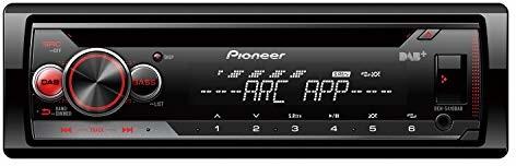 Pioneer DEH-S410DAB wielofunkcyjne radio samochodowe CD z DAB+, USB i AUX-IN  oświetlenie RGB regulowane oddzielnie dla wyświetlacza i przycisków  zdejmowany przód czarny DEH-S410DAB