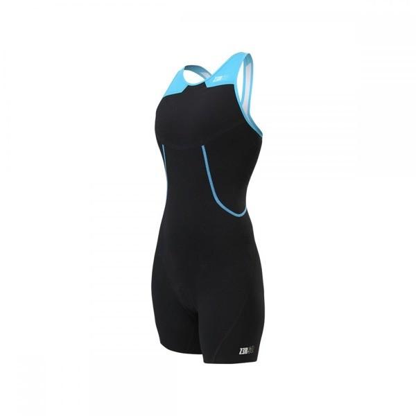 ZEROD strój triathlonowy damski EVOSUIT czarno-niebieski