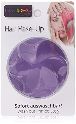 Coppelo coppelo Hair Make-Up, 1er Pack (1 X 0.005 kg) DEEP PURPLE 11408