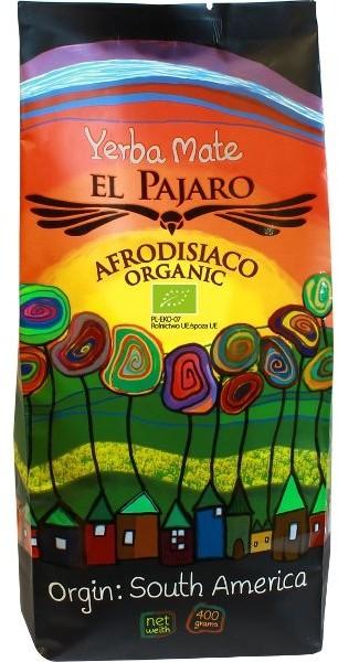 Yerba Mate Yerba Mate EL PAJARO Afrodisiaco Organic, 400 g