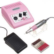 Beauty System Frezarka do manicure JD500 Różowa + zestaw frezów JD500 Różowa