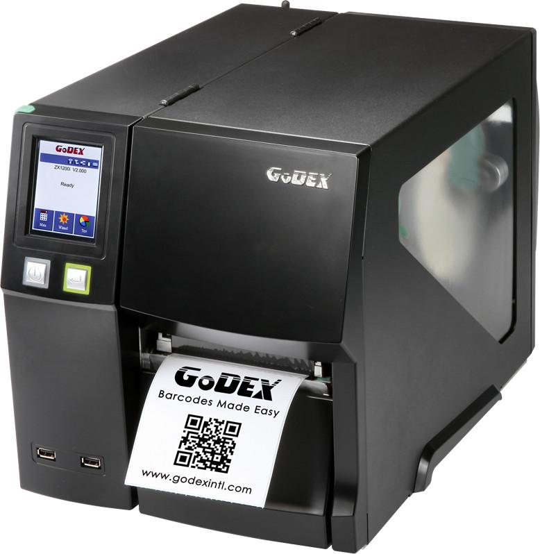 Godex Półprzemysłowa drukarka kodów kreskowych Godex ZX1200i ZX1200I