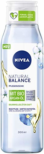 Nivea DuschNatural Balance zapach kwiatów bawełny Bio olejek arganowy, 300 ml