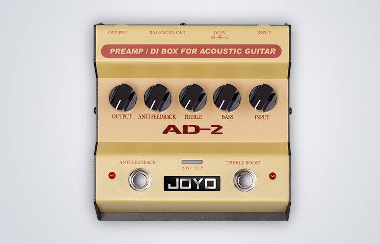 Joyo AD-2 - przedwzmacniacz/DI-box do gitary akustycznej