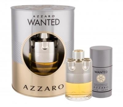 Azzaro Wanted zestaw 100 ml Edt 100 ml + Dezodorant 150 ml dla mężczyzn