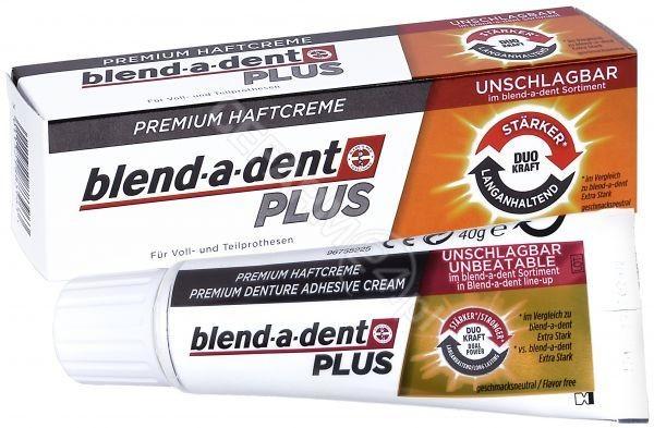 Procter & Gamble BLEND-A-DENT PLUS DUAL POWER Klej do protez - 40 g