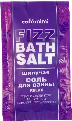 Le Cafe Cafe Mimi Mimi Fizz bath salt Musująca sól do kąpieli RELAX 100g