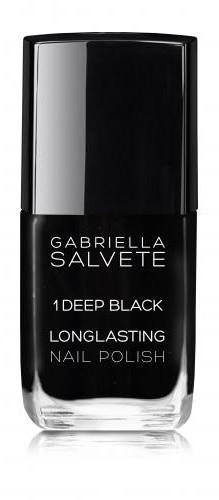 Gabriella Salvete Longlasting Enamel lakier do paznokci 11 ml 01 Deep Black
