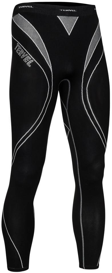TERVEL OPTILINE męskie spodnie termoaktywne OPT3004 czarno-szare