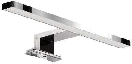 Ideus Łazienkowa LAMPA ścienna ROXANA 03748 metalowa OPRAWA kinkiet LED 5W 4000K galeryjka nad lustro IP44 chrom 03748