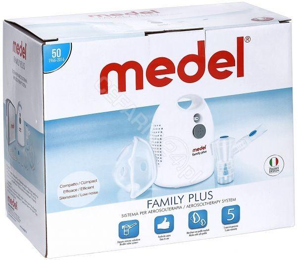 Medel Family Plus MY17 Inhalator pneumatyczny tłokowy dla całej rodziny