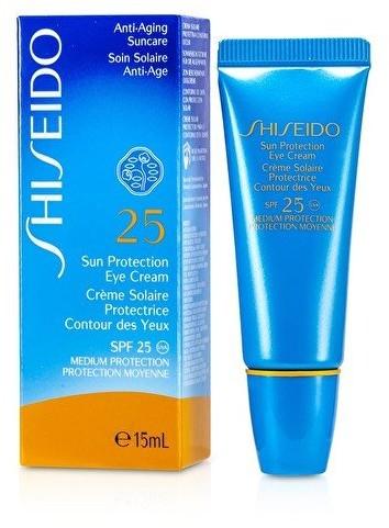 Shiseido krem do opalania do opalania, ochrona przed słońcem, krem do oczu i oczu SPF, 25 ml