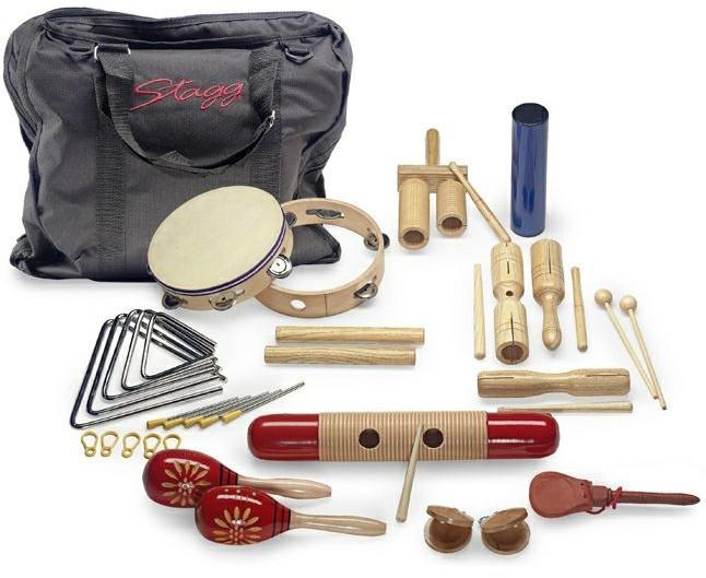 Stagg CPJ 05- zestaw instrumentów perkusyjnych dla dzieci 51621