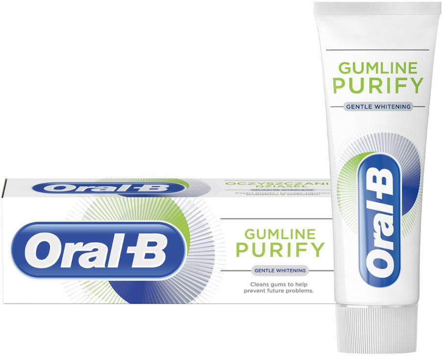 Oral-B PURIFY Gentle Whitening 75ml - wybielająca pasta do zębów z technologią aktywnej piany