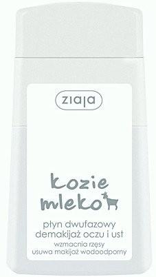 Ziaja Kozie Mleko płyn dwufazowy do demakijażu oczu i ust 120ml