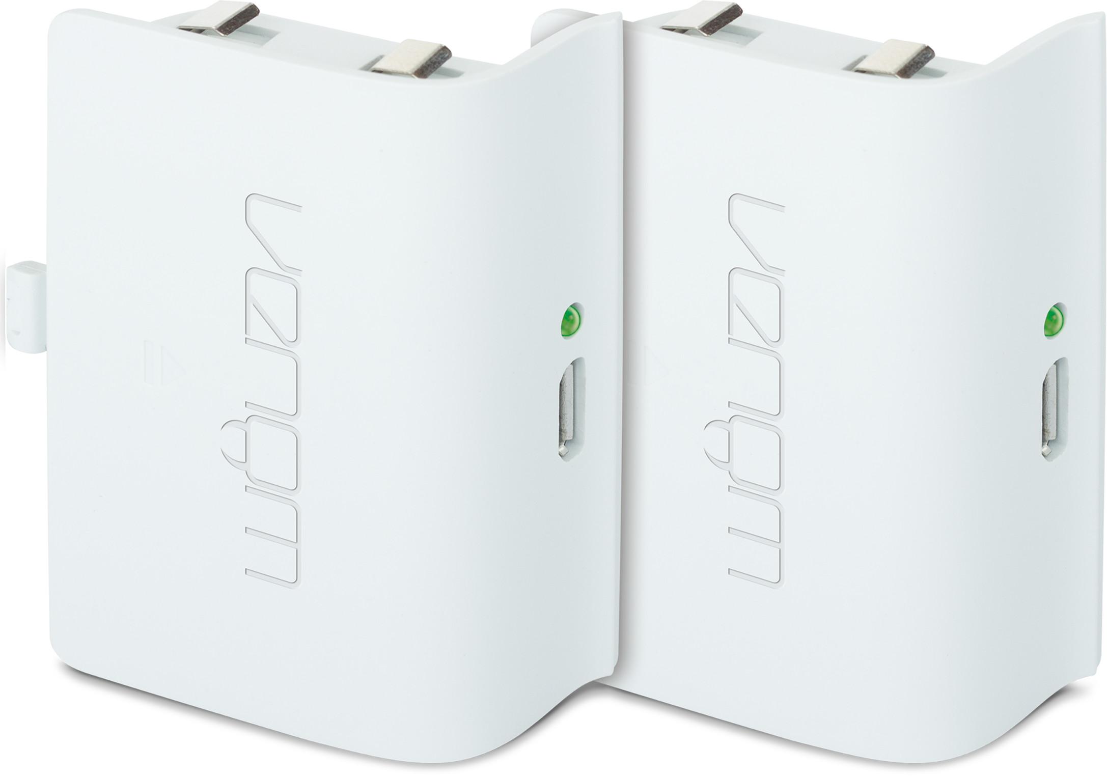 Microsoft Venom Xbox One Twin Battery Pack (Biały)