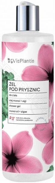 Elfa-Pharm Vis Plantis żel pod prysznic olej monoi + algi 400 ml