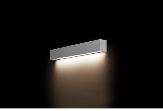 Nowodvorski Lampa ścienna, kinkiet STRAIGHT WALL LED SILVER S by 9613