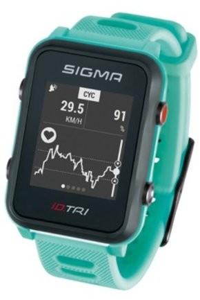 Sigma Pulsometr GPS ID.TRI 24260 miętowy LISP260