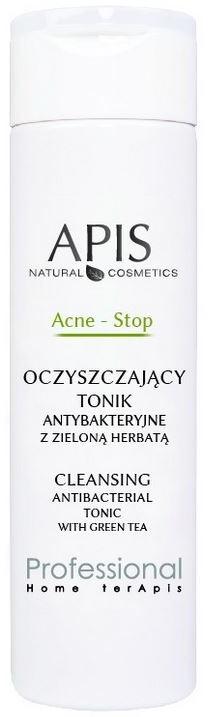 Apis ACNE-STOP - Oczyszczający tonik antybakteryjny z zieloną herbatą 200 ml