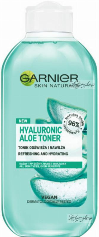 Garnier SKIN NATURALS - HYALURONIC ALOE TONER - Odświeżająco nawilżający tonik - 200 ml