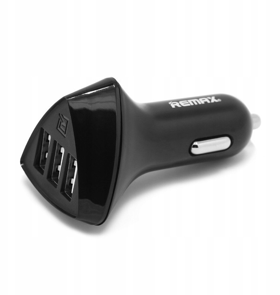 Remax Mocna Ładowarka Samochodowa iPhone 5 6 7 8 X