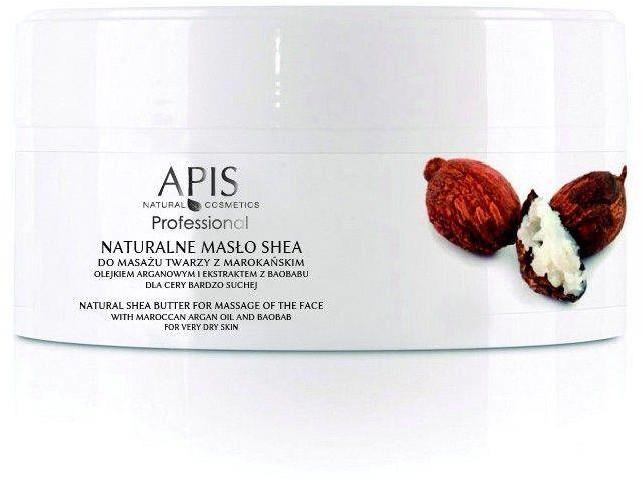 APIS Apis naturalne masło shea z olejkiem argan. do masażu twarzy 100g P105496