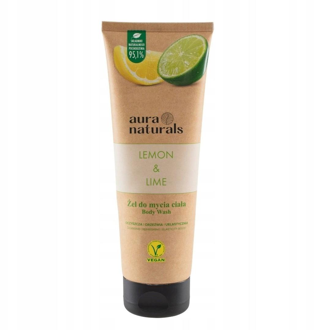 Naturals Aura Lemon Lime żel do mycia ciała 250ml