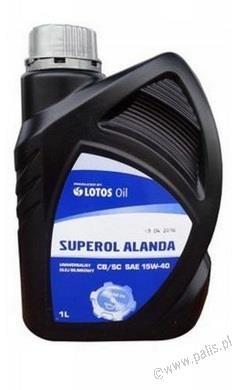 Lotos SUPEROL ALANDA 15W40 1L