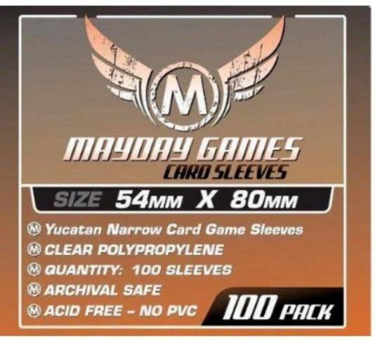 Mayday Games Koszulki Yucatan Narrow Standard 54x80 (100szt) -