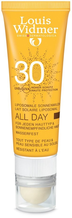 Louis Widmer GmbH All Day sztyft ochronny 30+ 25 ml