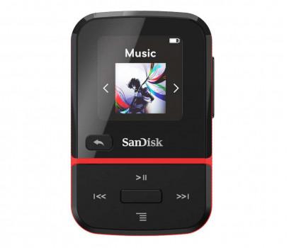 SanDisk Sansa Clip Sport Go 32GB Czarny SDMX30-032G-G46K (SDMX30-032G-G46R)