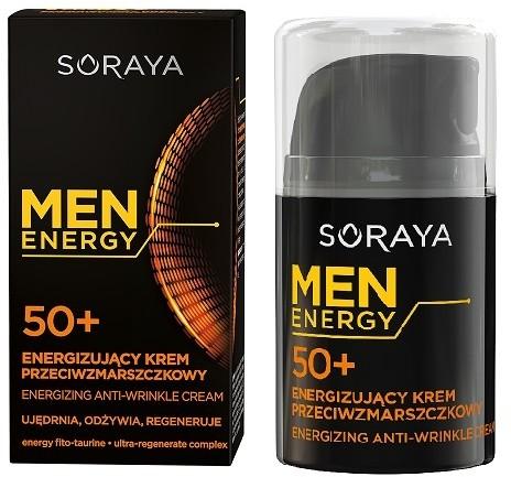Soraya Men Energy 50+ krem przeciwzmarszczkowy
