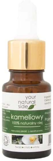 your natural side Olej Kameliowy nierafinowany 10ml Your Natural Side