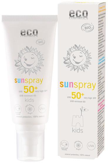 Eco Cosmetics Spray na słońce LSF 50+ dla dzieci C4823