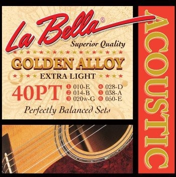 LaBella 40PT struny do git. akustycznej