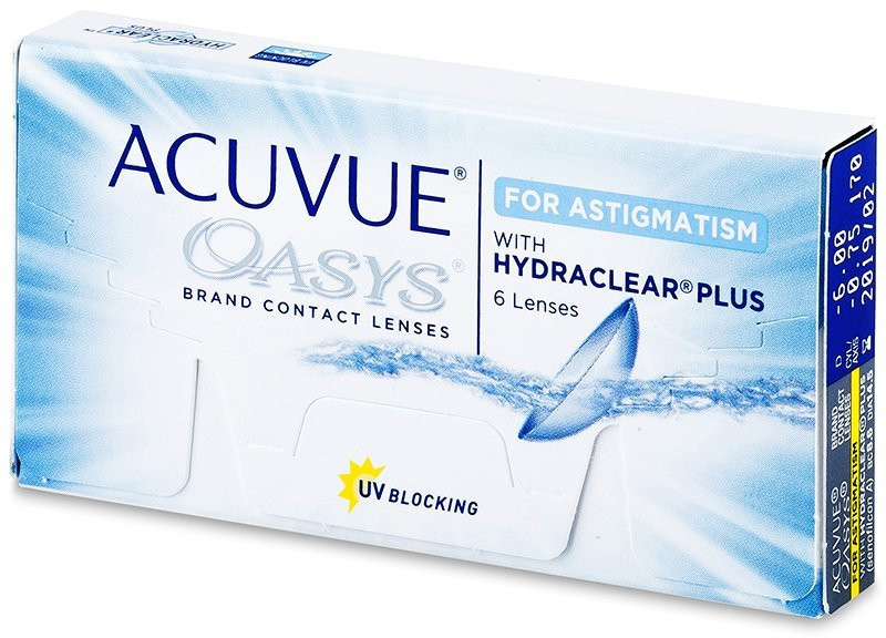 top Johnson&Johnson Acuvue Oasys for Astigmatism 6 szt.