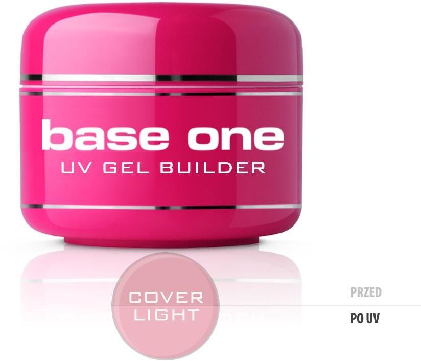 Silcare Gel Base One Cover Light maskujący żel UV do paznokci 15g