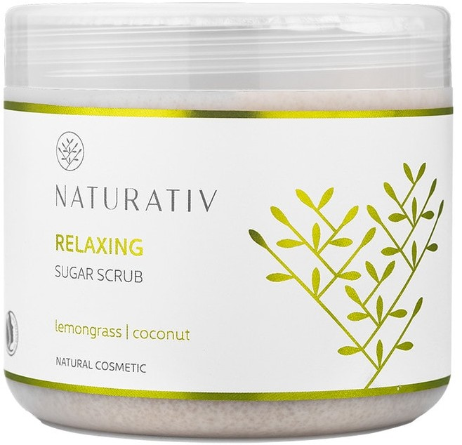 Naturativ Relaxing Sugar Scrub 500 ml Relaksujący scrub cukrowy