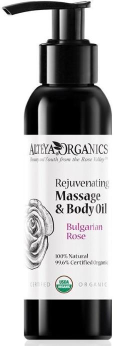 Odmładzający różany olejek BIO do masażu 125 ml