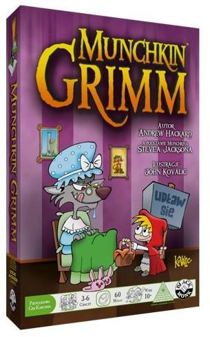 Black Monk Munchkin Grimm