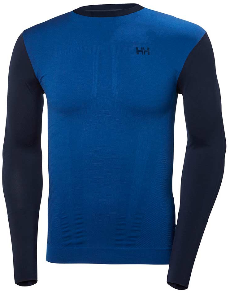 Helly Hansen Koszulka LIFA SEAMLESS CREW MEN evening blue
