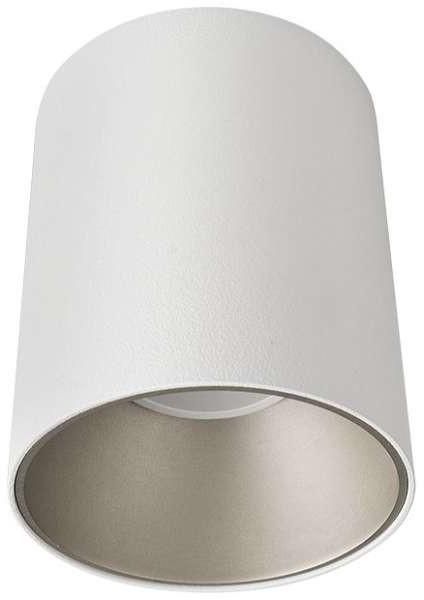 Nowodvorski LAMPA sufitowa EYE TONE 8928 metalowa OPRAWA tuba downlight minimalistyczny biała srebrna 8928