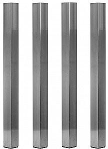 DuraTruss DS-PROSTAGE LEG SET Nogi do podestu scenicznego kwadratowe 40 - zestaw 4szt 1711000036