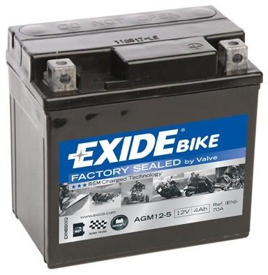 EXIDE AGM12-5