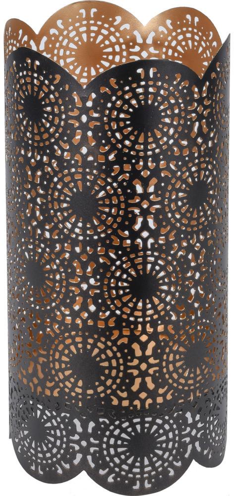 Home Styling Collection Metalowy świecznik dekoracyjny lampion stojak na świecę B07DRHRRSZ
