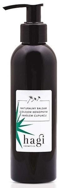 Hagi Naturalny balsam z Olejem Konopnym i Masłem Cupuacu 200ml 42467-uniw